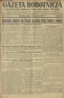 Gazeta Robotnicza, 1928, R. 33, nr 92