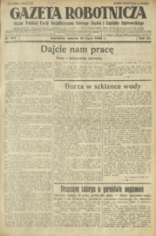 Gazeta Robotnicza, 1928, R. 33, nr 167