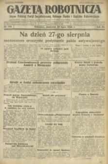 Gazeta Robotnicza, 1928, R. 33, nr 172