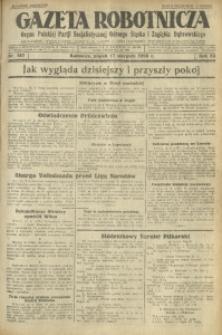 Gazeta Robotnicza, 1928, R. 33, nr 187