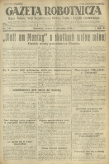 Gazeta Robotnicza, 1928, R. 33, nr 191