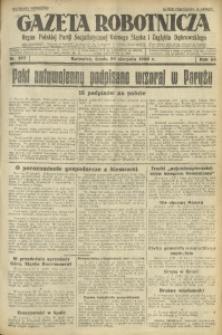 Gazeta Robotnicza, 1928, R. 33, nr 197