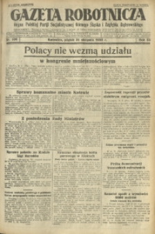 Gazeta Robotnicza, 1928, R. 33, nr 199