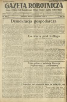 Gazeta Robotnicza, 1928, R. 33, nr 208