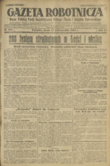 Gazeta Robotnicza, 1928, R. 33, nr 239