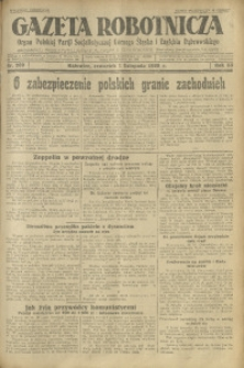 Gazeta Robotnicza, 1928, R. 33, nr 252