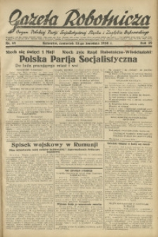 Gazeta Robotnicza, 1934, R. 39, nr 44