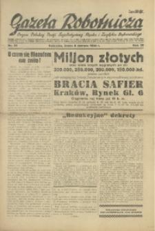 Gazeta Robotnicza, 1934, R. 39, nr 69