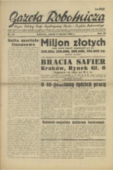Gazeta Robotnicza, 1934, R. 39, nr 72