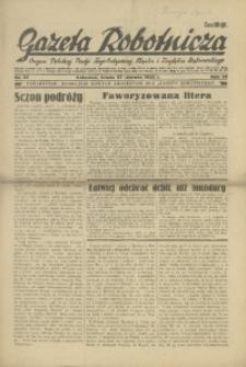 Gazeta Robotnicza, 1934, R. 39, nr 87