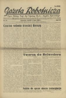Gazeta Robotnicza, 1934, R. 39, nr 91