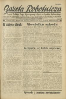 Gazeta Robotnicza, 1934, R. 39, nr 130