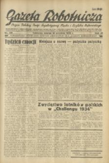 Gazeta Robotnicza, 1934, R. 39, nr 156