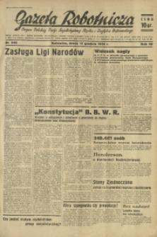Gazeta Robotnicza, 1934, R. 39, nr 248