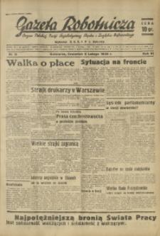 Gazeta Robotnicza, 1936, R. 41, nr 39