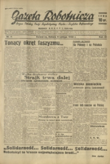 Gazeta Robotnicza, 1936, R. 41, nr 41