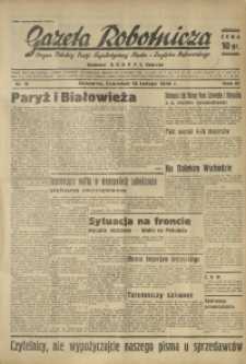 Gazeta Robotnicza, 1936, R. 41, nr 46