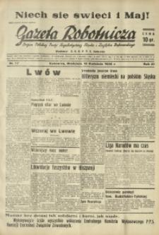 Gazeta Robotnicza, 1936, R. 40, nr 117