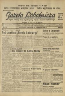 Gazeta Robotnicza, 1936, R. 40, nr 129