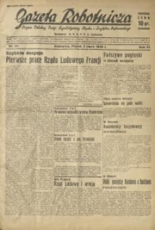 Gazeta Robotnicza, 1936, R. 40, nr 184