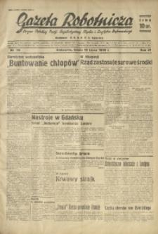 Gazeta Robotnicza, 1936, R. 40, nr 196