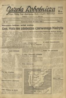 Gazeta Robotnicza, 1936, R. 40, nr 209