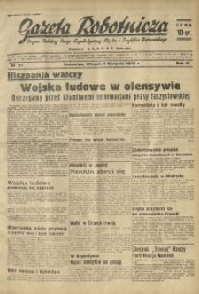 Gazeta Robotnicza, 1936, R. 40, nr 214