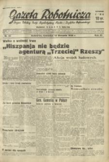 Gazeta Robotnicza, 1936, R. 40, nr 222
