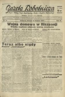 Gazeta Robotnicza, 1936, R. 40, nr 225