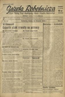 Gazeta Robotnicza, 1936, R. 40, nr 237