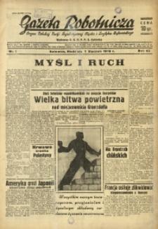 Gazeta Robotnicza, 1939, R. 43, nr 1