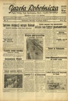 Gazeta Robotnicza, 1939, R. 43, nr 38