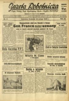 Gazeta Robotnicza, 1939, R. 43, nr 49