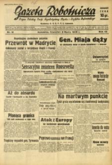Gazeta Robotnicza, 1939, R. 43, nr 58