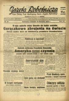 Gazeta Robotnicza, 1939, R. 43, nr 89