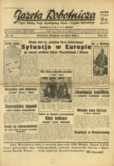 Gazeta Robotnicza, 1939, R. 43, nr 116