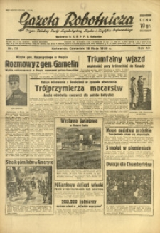 Gazeta Robotnicza, 1939, R. 43, nr 119