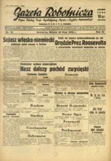 Gazeta Robotnicza, 1939, R. 43, nr 123