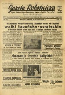 Gazeta Robotnicza, 1939, R. 43, nr 153