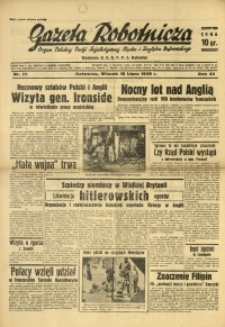 Gazeta Robotnicza, 1939, R. 43, nr 171