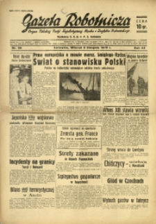 Gazeta Robotnicza, 1939, R. 43, nr 189