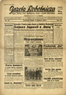 Gazeta Robotnicza, 1939, R. 43, nr 192