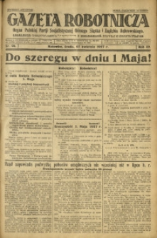 Gazeta Robotnicza, 1927, R. 32, nr 96