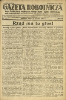 Gazeta Robotnicza, 1927, R. 32, nr 127