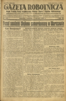 Gazeta Robotnicza, 1927, R. 32, nr 130
