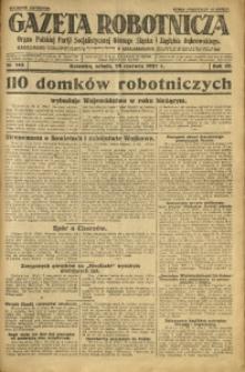 Gazeta Robotnicza, 1927, R. 32, nr 143