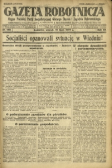 Gazeta Robotnicza, 1927, R. 32, nr 162