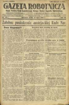 Gazeta Robotnicza, 1927, R. 32, nr 169