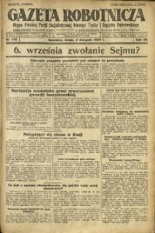Gazeta Robotnicza, 1927, R. 32, nr 175