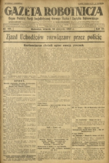 Gazeta Robotnicza, 1927, R. 32, nr 191